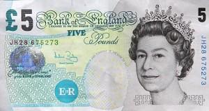 £5 pound note shortage