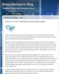 church blog