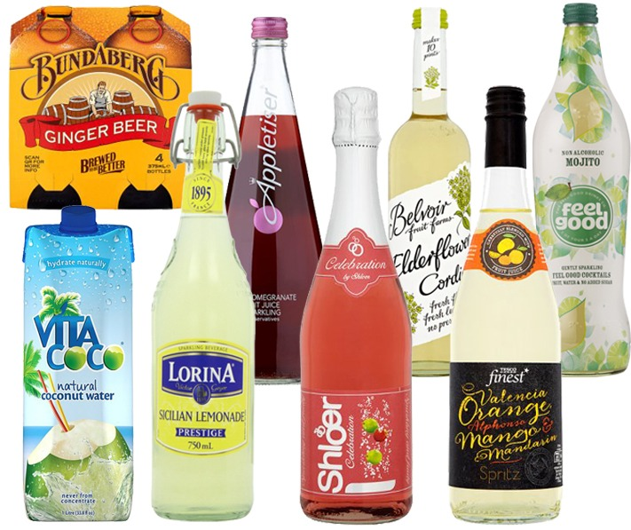 non-alcoholic-drinks-collage