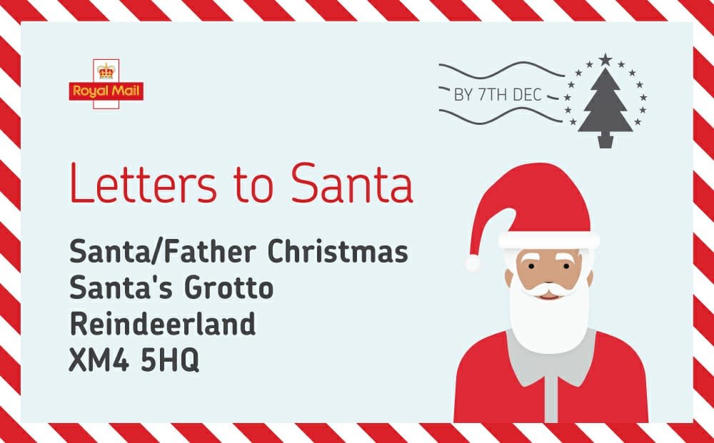 letter to santa royal mail letters to santa with royal mail give as you live 21072 | rmgraphic