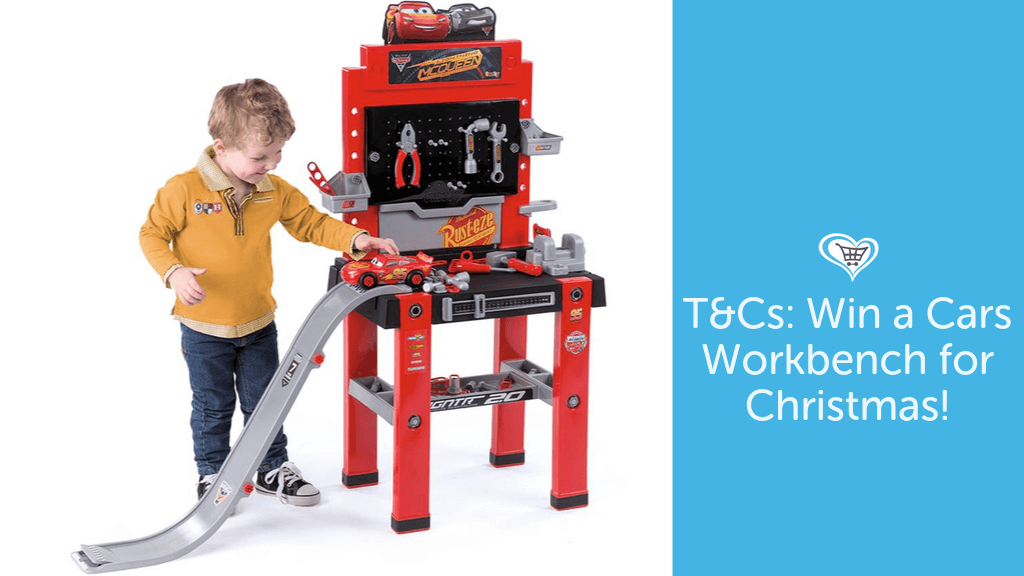 Win a Cars Workbench for Christmas!