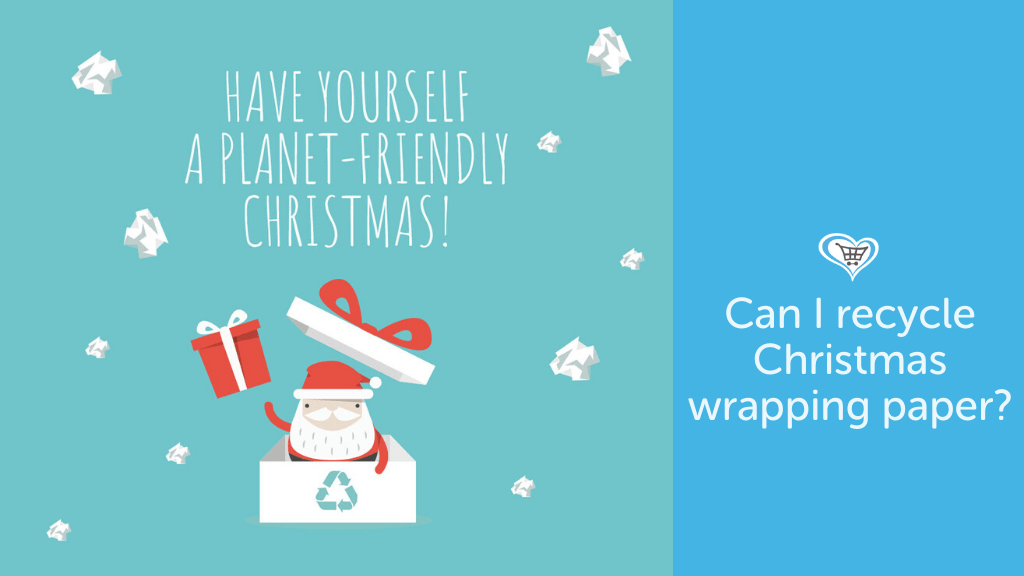 Can I recycle wrapping paper?
