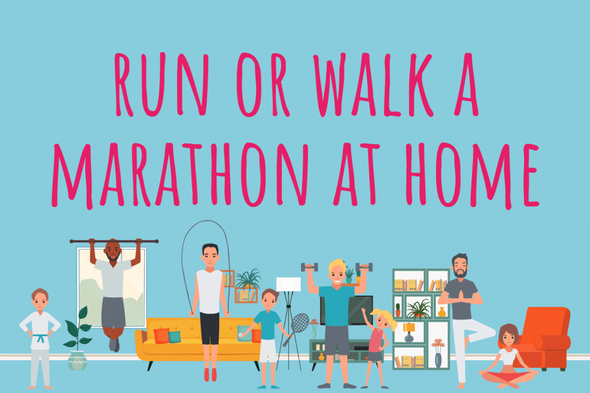 How To: Do A Marathon At Home!