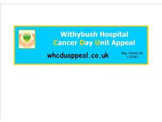 Withybush Hospital Cancer Day Unit Appeal