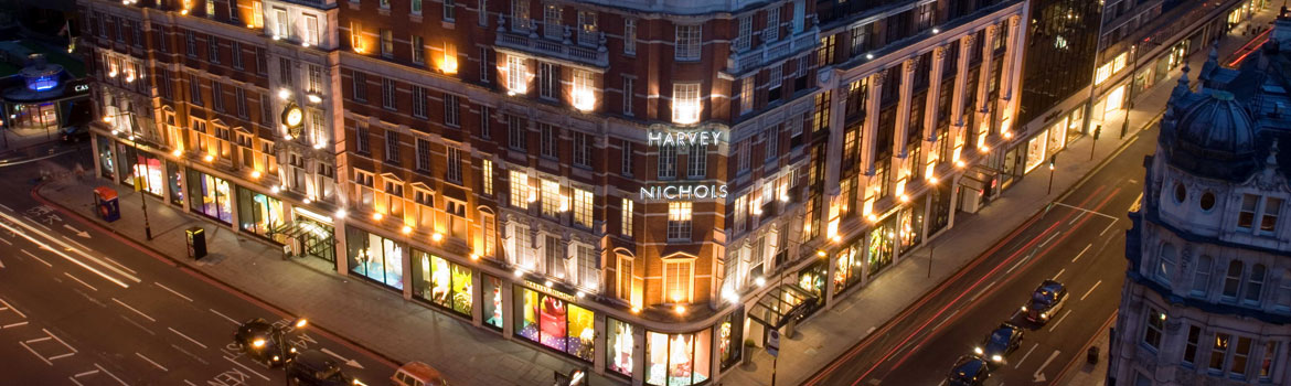 Fundraise with Harvey Nichols