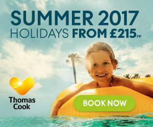 Thomas Cook holiday offer