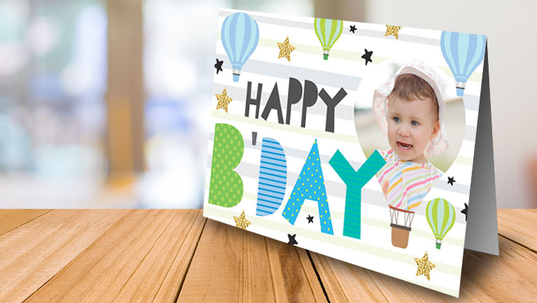 Raise free funds with Personalised greeting card orders
