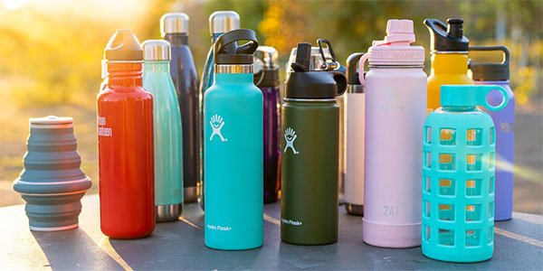 10 of the Best Reusable Water Bottles