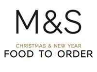 Marks & Spencer Christmas Food to Order