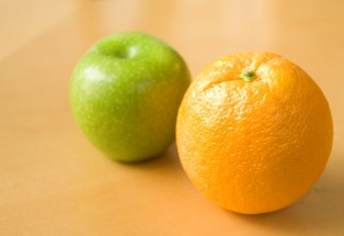 Apples and Oranges, Author: Michael Johnson, http://www.flickr.com/photos/26176646@N04