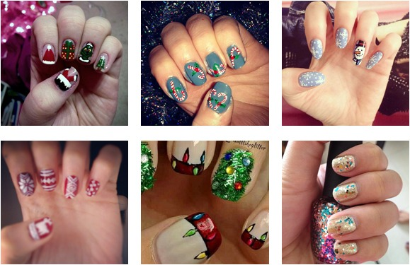 Nail art jazz up your nails for the party season give as you nailart prinsesfo Gallery