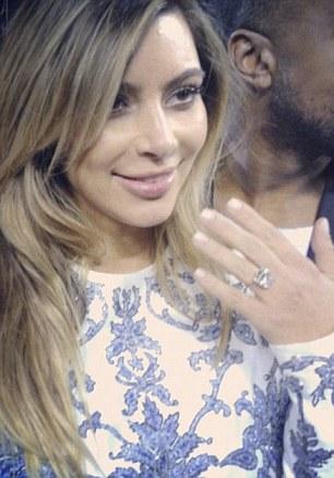 Kim's Engagement Ring