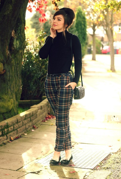 what to wear with trousers