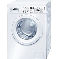 Bosch WAQ283S1GB Washing Machine with 8kg Load, 1400rpm Spin Speed (White)