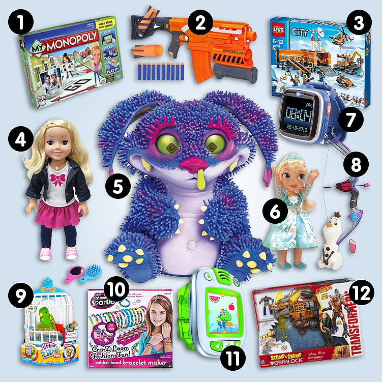 Popular Toys 2014 : Argos top christmas toy predictions for give as