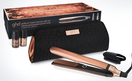 Be As Bad You Like But Good To Your Hair With The Innovative Ghd Platinum Copper Luxe Premium Gift Set