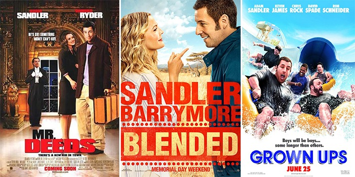 Streaming Site Netflix Signs Sandler Up For Four Movie Deal