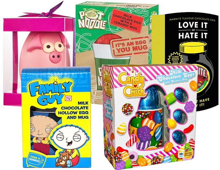 Top five novelty easter eggs give as you live blog easter eggs negle Gallery