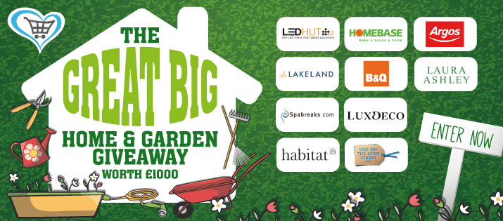 Closed Win Our Great Big Home Garden Giveaway Worth