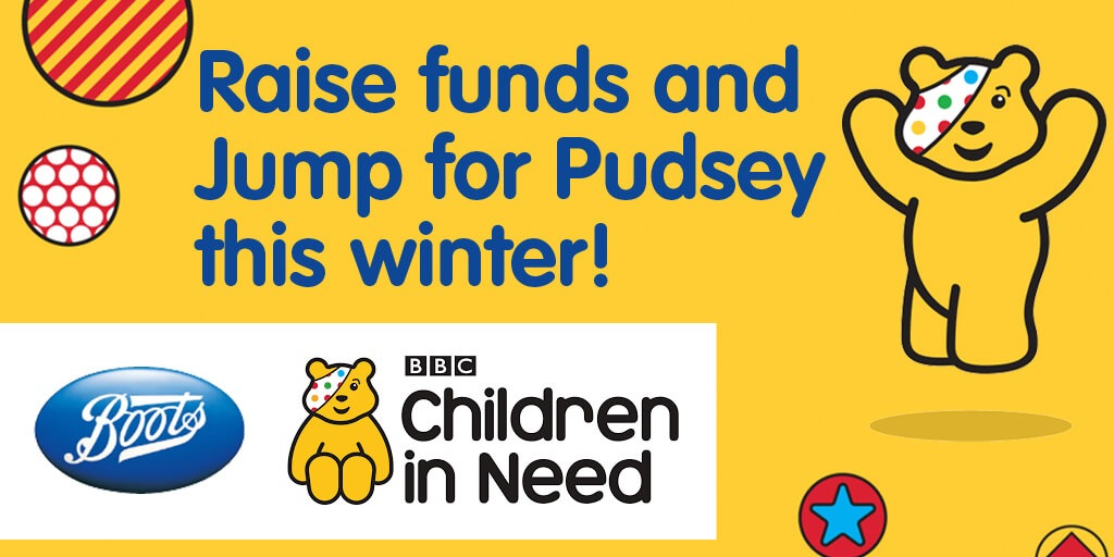 Boots & BBC Children in Need 2016