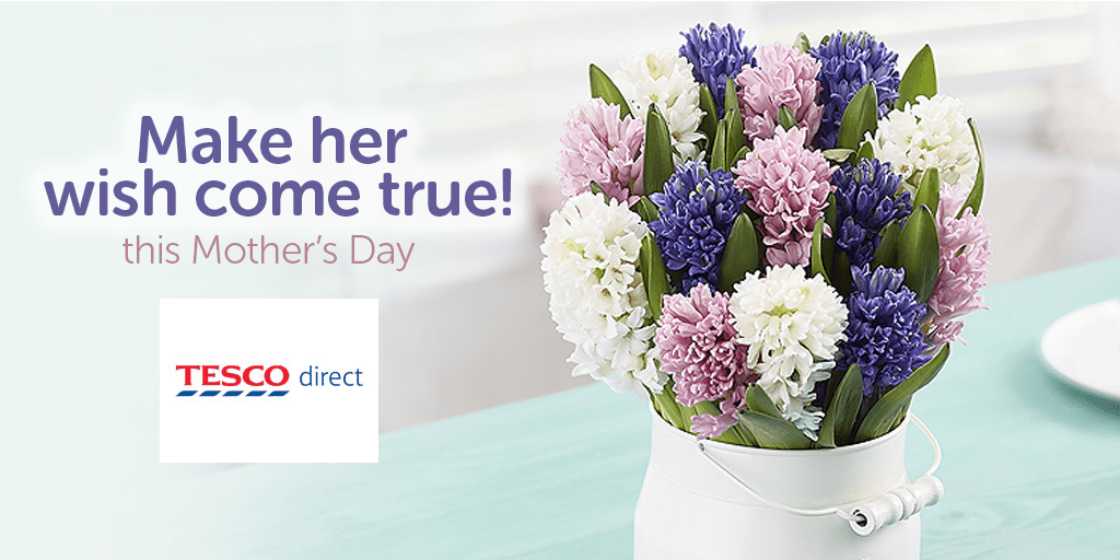 Spend more time with Mum from Tesco!
