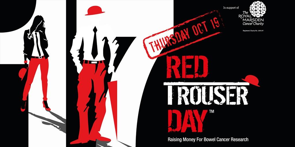 Be ready for Red Trouser Day!