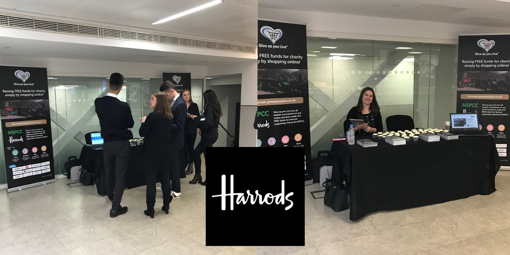 Give as you Live visits Harrods - Give as you Live Blog 406a8ec0b4e