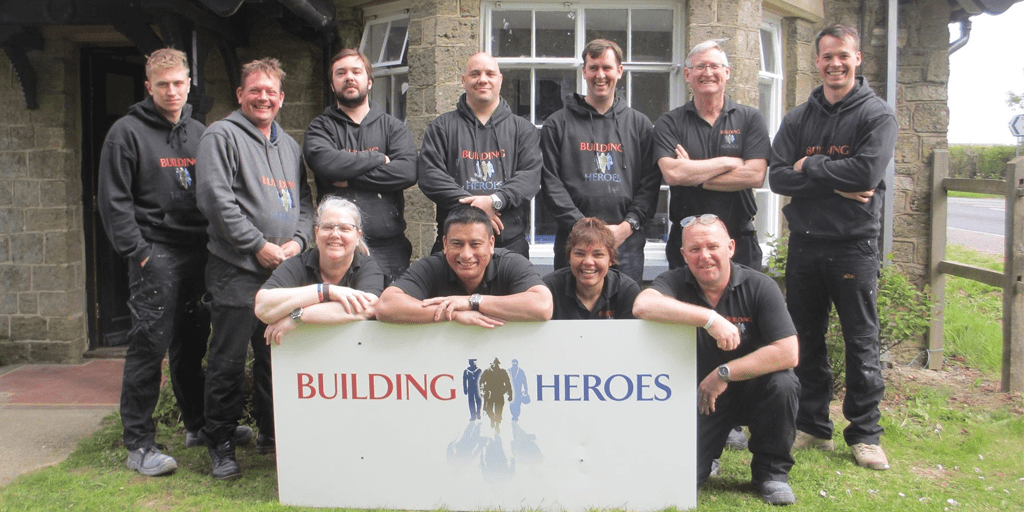 Our featured charity – Building Heroes Education Foundation