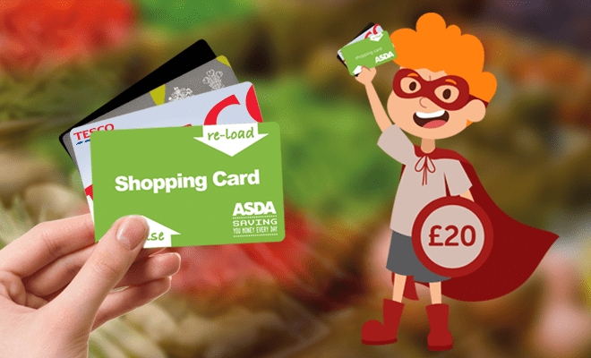 Be a Giving Hero and Raise with a Give as you Live Grocery Card