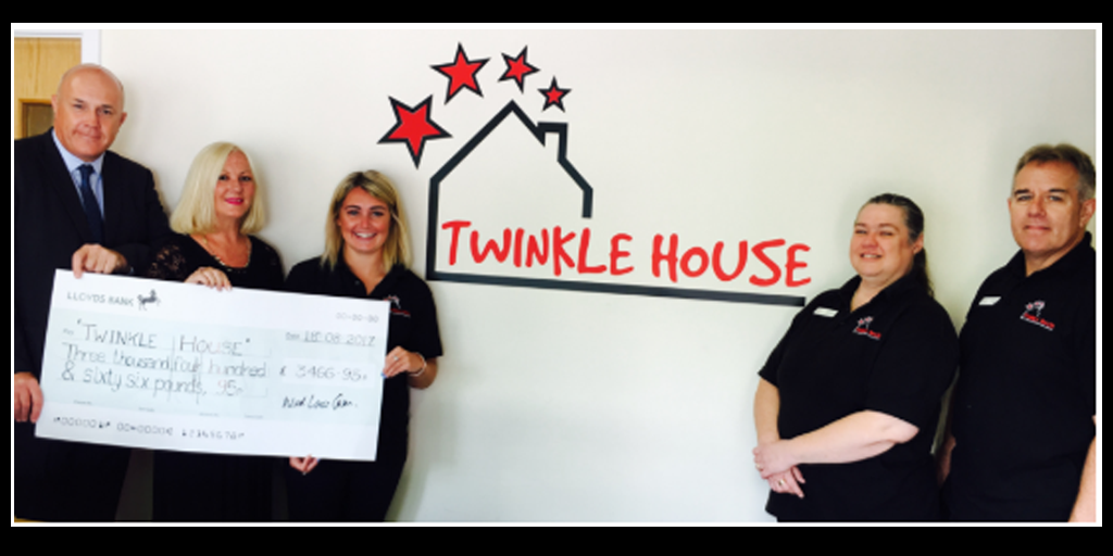 Twinkle House Give as you Live