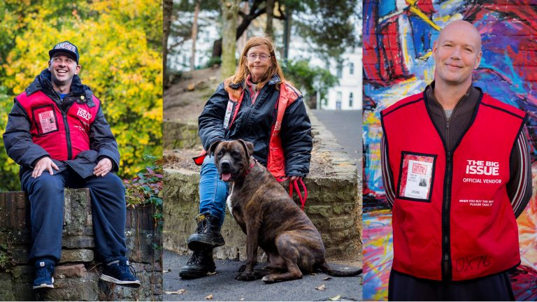 The Big Issue Foundation Become Featured Charity
