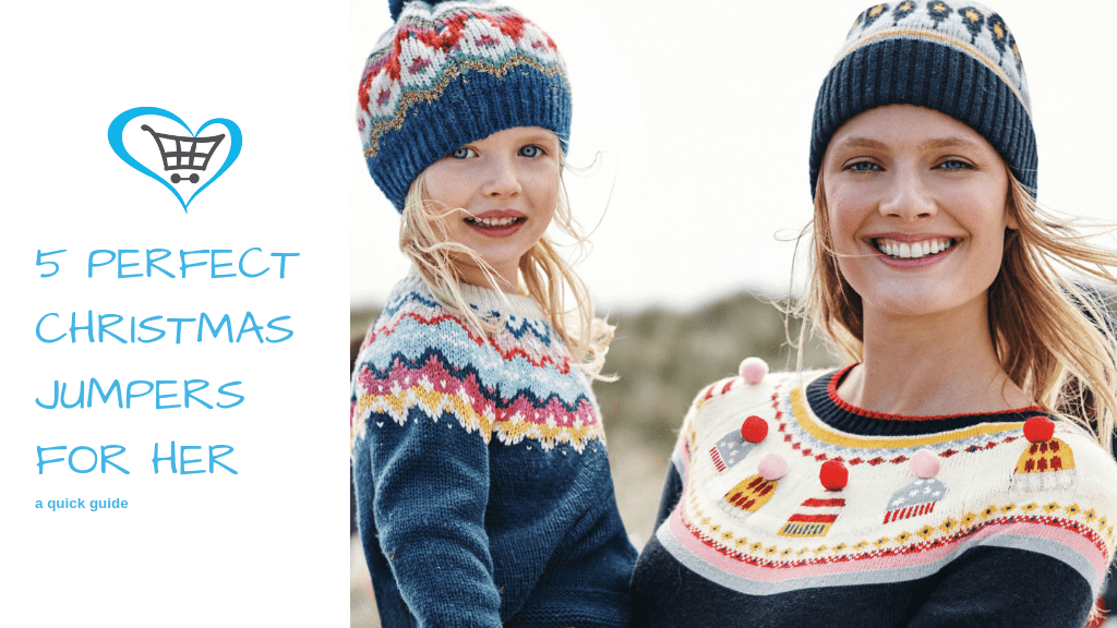 5 Perfect Christmas Jumpers for Her