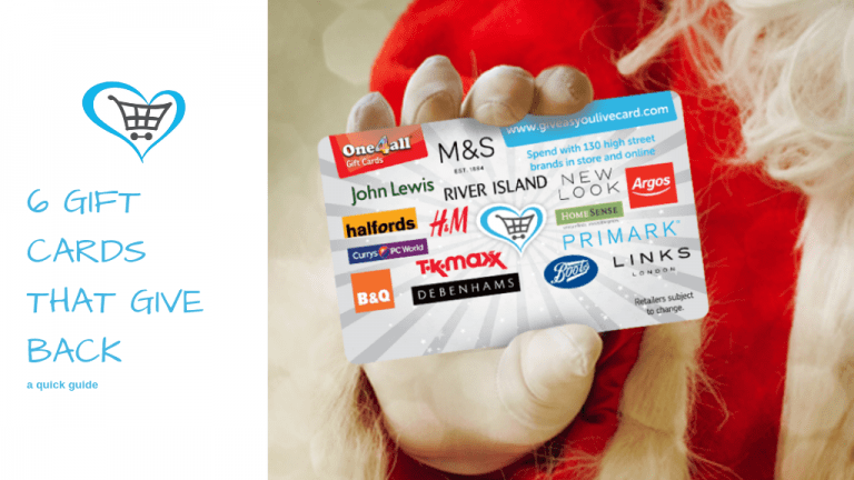 6 Gift Cards That Give Back