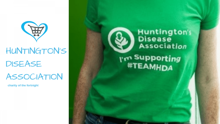 Huntington's Disease Association become Charity of the Fortnight!