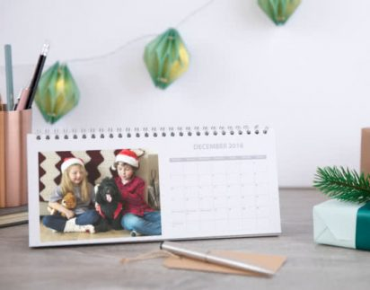 Get a FREE calendar at Photobox this week!