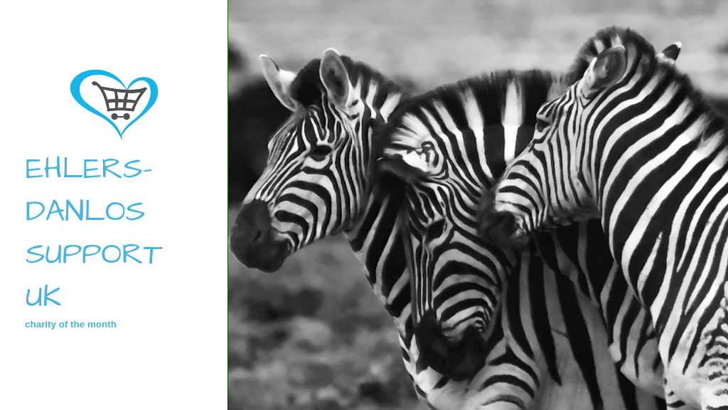 Ehlers-Danlos Support UK become Charity of the Month!