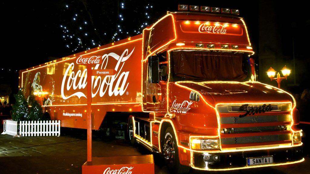 coca cola christmas truck tour 2018 - Coca Cola Christmas Commercial
