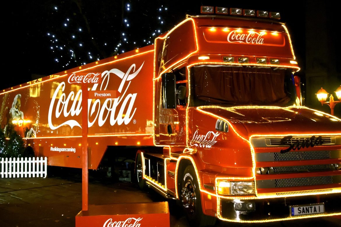Coca-Cola Christmas Truck Tour 2018
