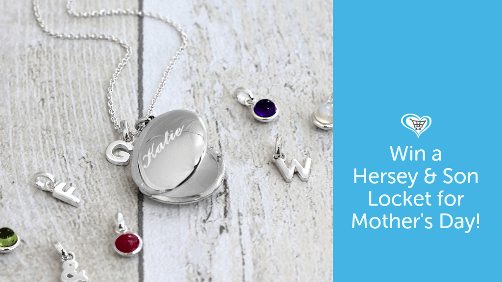 Win a Hersey & Son Silversmiths Engraved Silver Locket