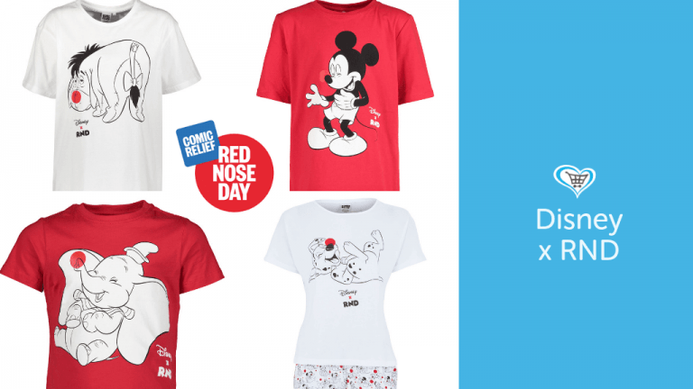 Red Nose Day T-Shirts & Homeware