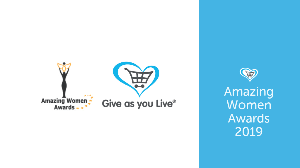Give as you Live Become Principle Sponsor of Amazing Women Awards 2019